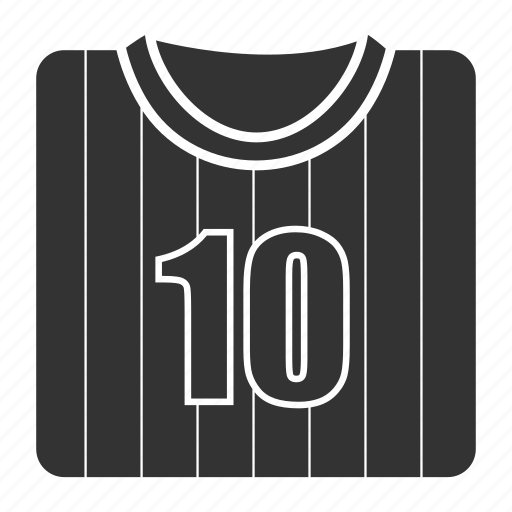 clothes, shirt, sportswear, t-shirt, uniform, wear icon