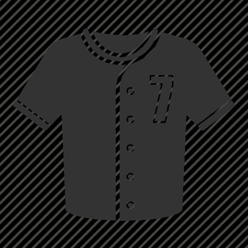 baseball, clothes, polo, shirt, sportwear, t-shirt, uniform icon