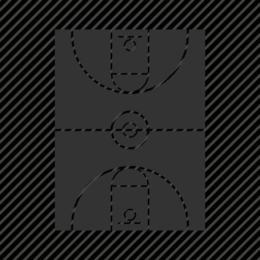 arena, basketball, court, field, gym, sport, stadium icon