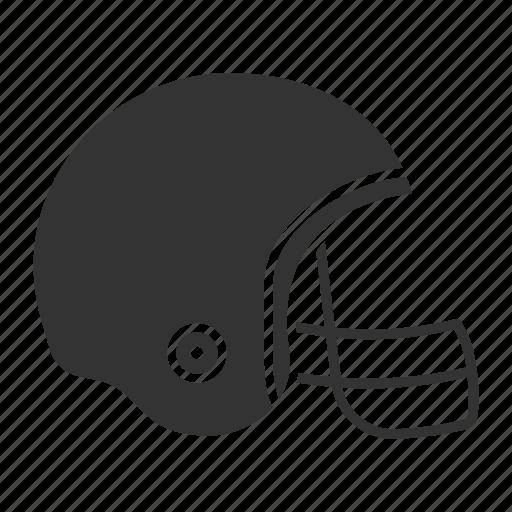 american football, equipment, helmet, rugby, rugger, sport, uniform icon