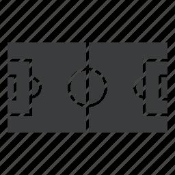 court, field, football, ground, soccer, sports, stadium icon