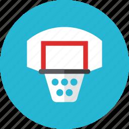 backboard, basket icon