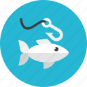 fish, fishing icon