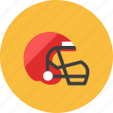 american football, helmet icon