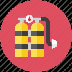oxygen, tank icon