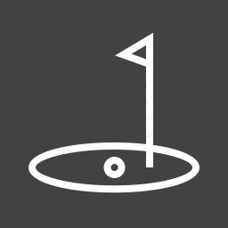 ball, flag, goal, golf, play, post, sports icon