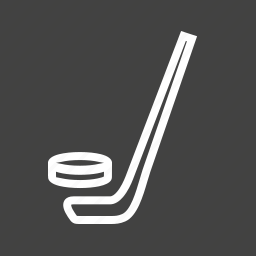 ball, game, hockey, people, puck, sports, stick icon