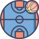 ball, basketball, court, fitness, game, nba, sports