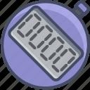 clock, digital, fitness, health, sports, stop, watch