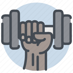 fitness, gym, health, lift, sports, weight icon