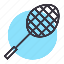badminton, game, racket, racquet, shuttle icon