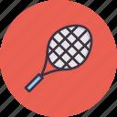 bat, racket, racquet, tennis icon
