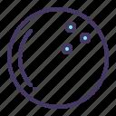 ball, bowl, bowling, game icon