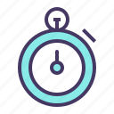 clock, count, stopwatch, time, timer icon