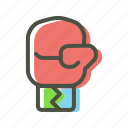 boxing, fight, gloves, punch icon