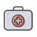 aid, box, first, healthcare, kit, medical, medikit icon