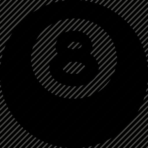 ball, eight icon