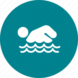 man, player, pool, sports, swimmer, swimming, water icon