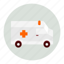ambulance, emergency, health, healthcare, medical, medicine icon