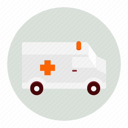 ambulance, emergency, health, healthcare, medical, medicine icon