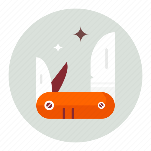 army, knife icon