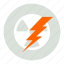 atomic, lighting, power icon