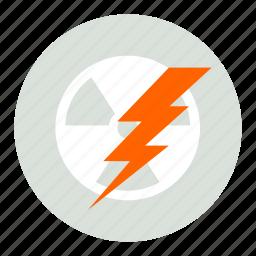 atomic, lighting, power icon
