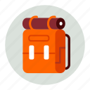 backpack, tourism, travel, vacation icon