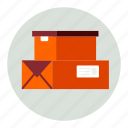 boxes, delivery, package, packets, parcel, product, products icon
