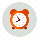 clock, alarm, time