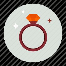 diamond, diamonds, gem, jewel, jewelry, ring, stone icon