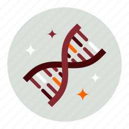 dna, genetics, health, medical, medicine, science icon