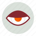 evil, eye, view icon