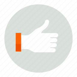 hand, thumbs, up icon