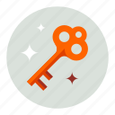 guard, key, protection, safe, secure, security icon