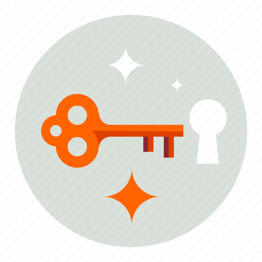 key, lock, open, protection, secure, security, unlock icon