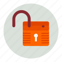 lock, unlocked icon