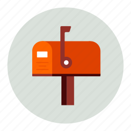 mail, mailbox icon