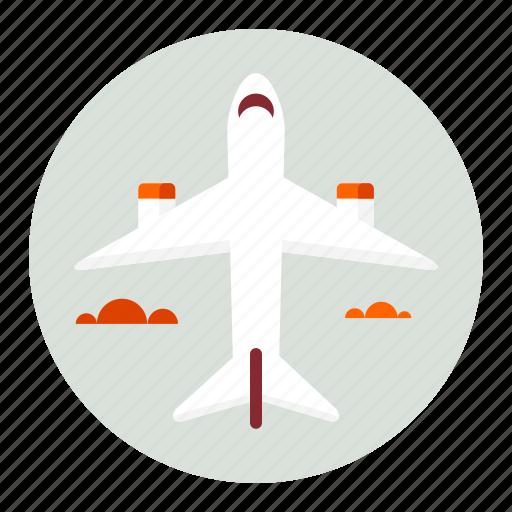 airplane, flight, plane, transport, transportation, travel icon