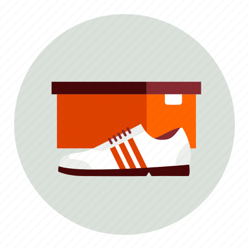 box, closed, product, shoe icon