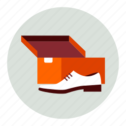 box, man, new, shoe icon