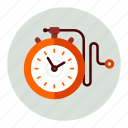stopwatch, time, timer icon