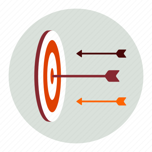 Arrows, target, creative icon - Download on Iconfinder