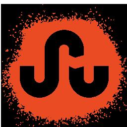 colour, media, set, social, spray, stumbleupon icon
