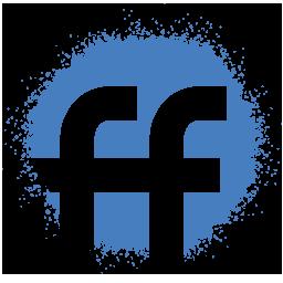 Colour, fiendfeed, media, set, social, spray icon - Free download