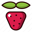 strawberry, berry, fruit, food