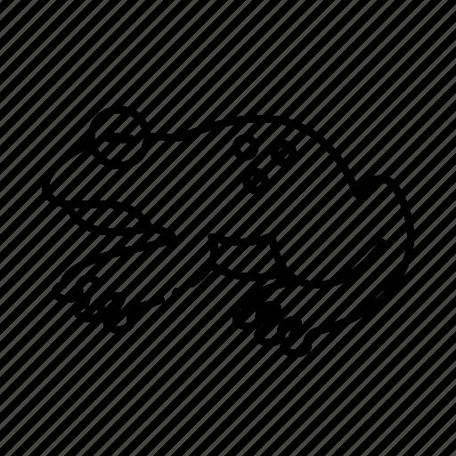Frog, animal, amphibian, wildlife icon - Download on Iconfinder