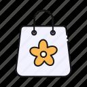 spring, shopping, bag, shop