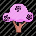 tree, spring, blossom, nature
