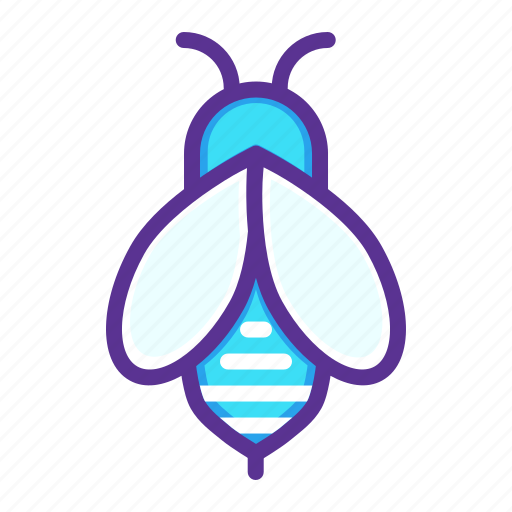 apiary, apiculture, bee, beekeeping, fly, honey, insect icon